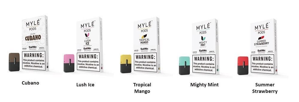 myle flavors