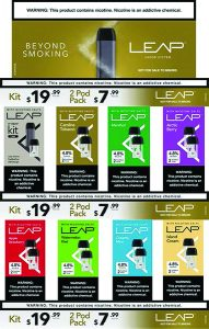 Leap Vapor Display